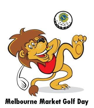 Melbourne Market Golf Day Logo